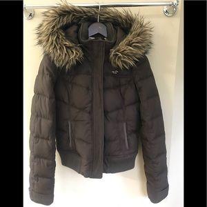Hollister Puffer Coat